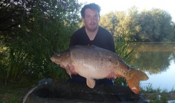 lillypool carp fishing in france report