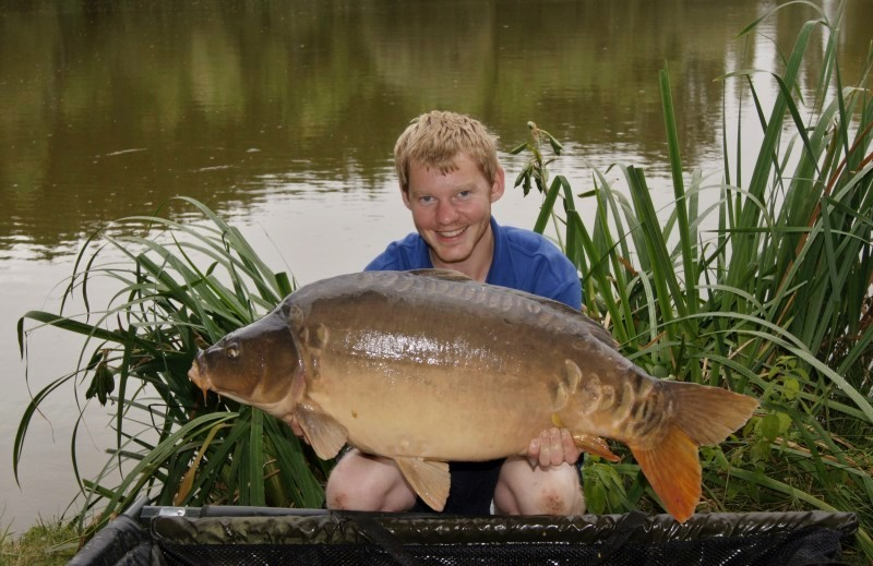 carp fishing at Lillypool in France