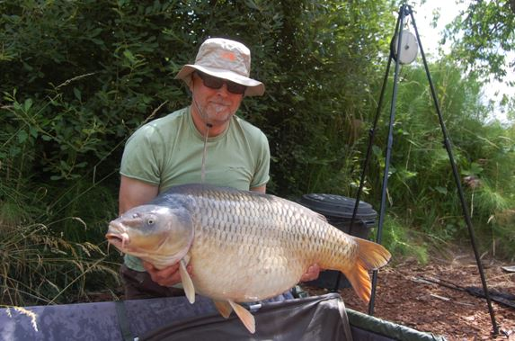 big carp fishing in france at Bletiere