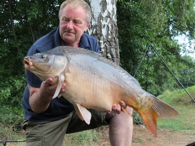28lb 4oz, one of the many upper twenties that I landed