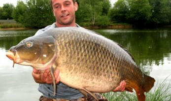french carp fishing lake old oaks