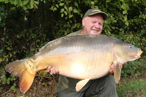Jonchery french carp lake