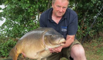 carp fishing in france at alder