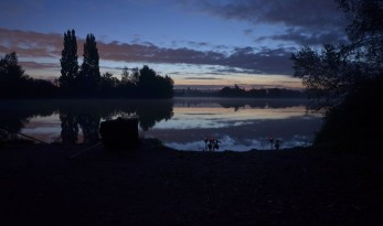 laroussi carp fishing lake in France