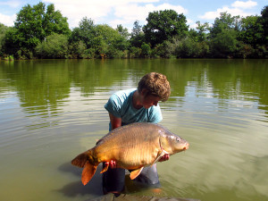 Glehias French carp fishing lake