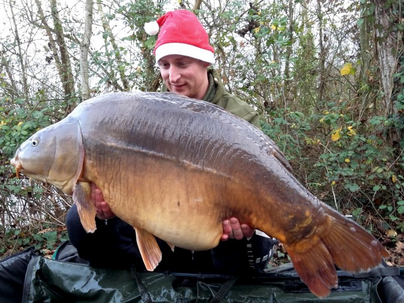 carp fishing in france at old oaks