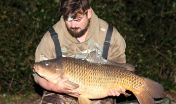 carp fishing in france at Vaumigny