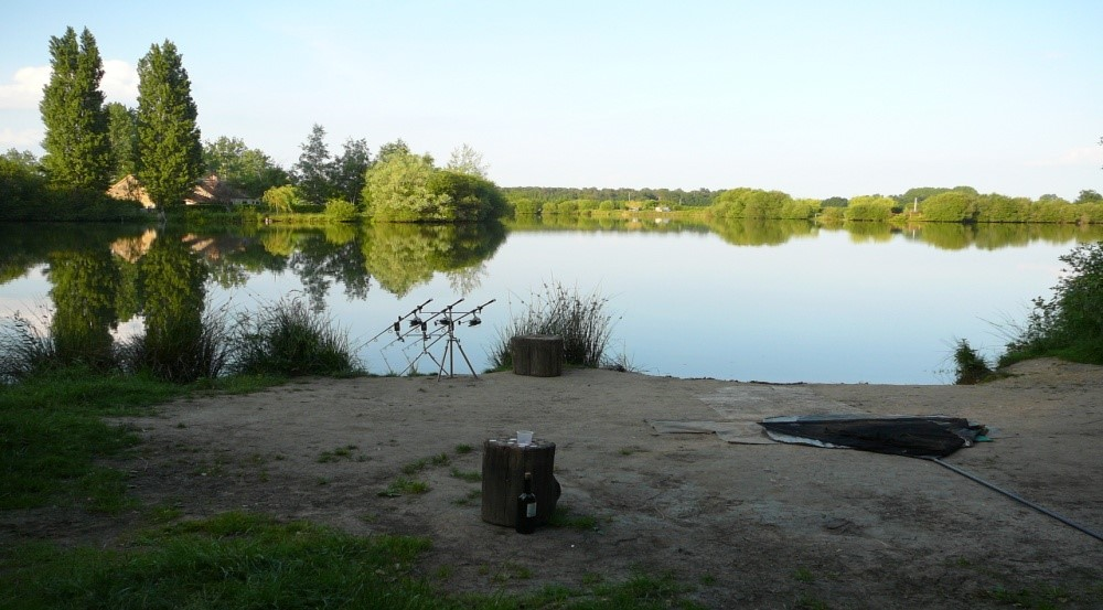 laroussi carp fishing l'anse swim