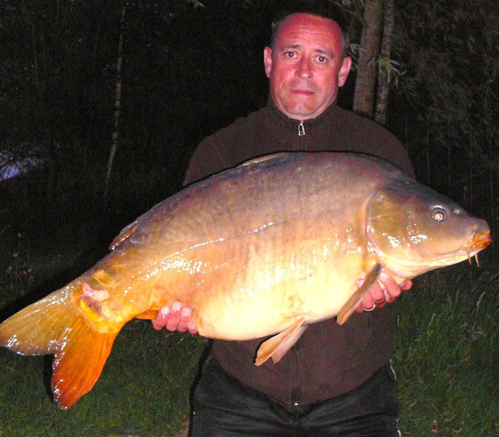 french carp lake laroussi