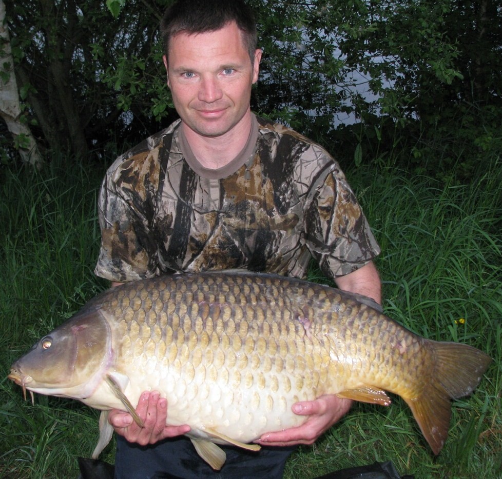 laroussi fifty pound common carp