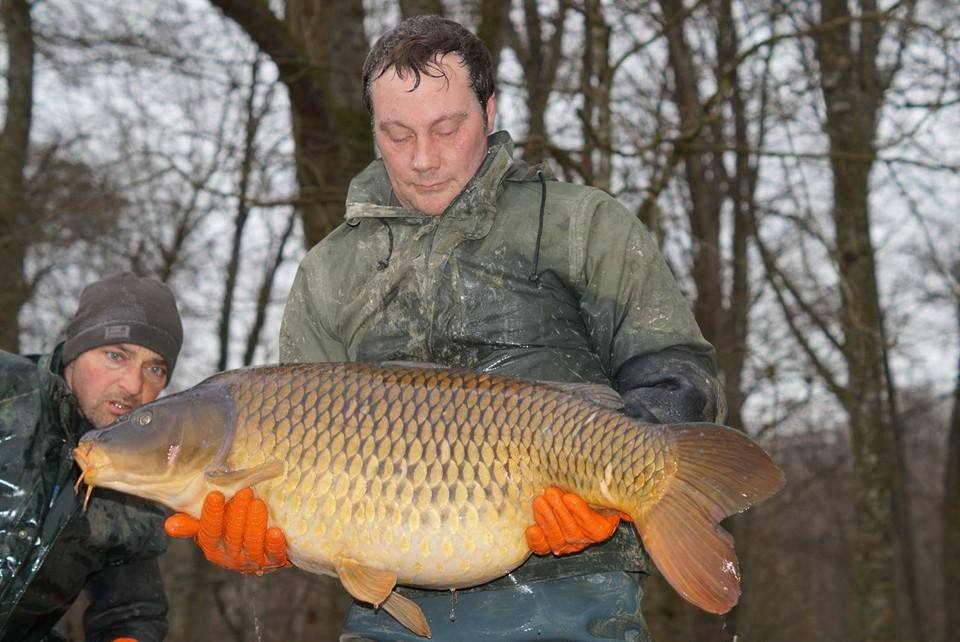 carp fishing in france brocard small