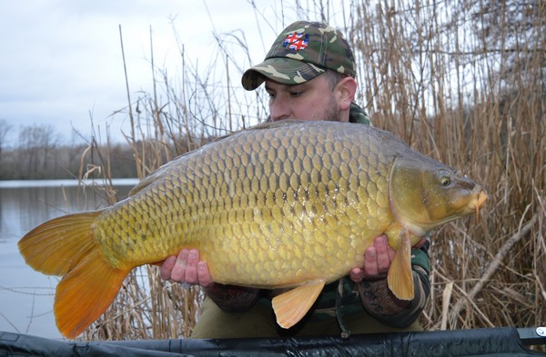 CARP FISHING FRANCE AT BROCARD LARGE