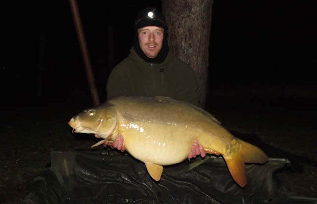 French carp fishing Molyneux