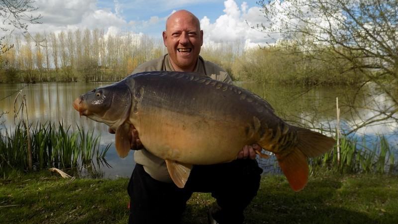 lillypool carp lake in France