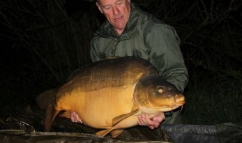 big carp fishing at villefond