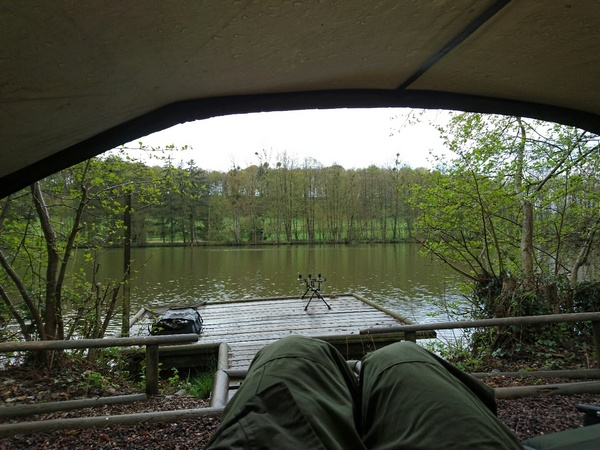 carp fishing in france in april