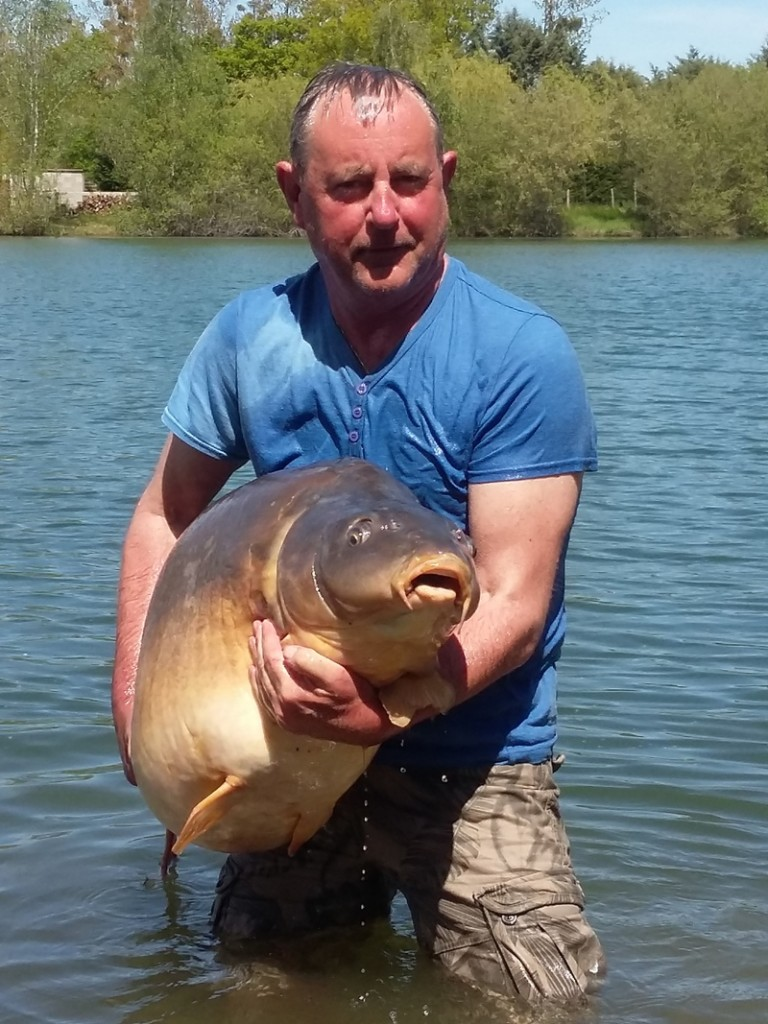 big carp fishing in france