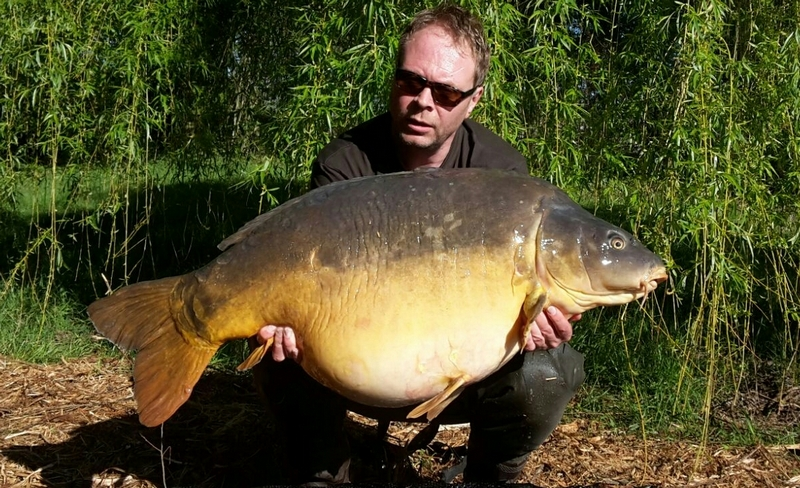 french big carp 70lb