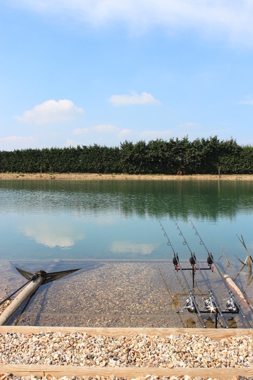carp fishing in france at deux iles