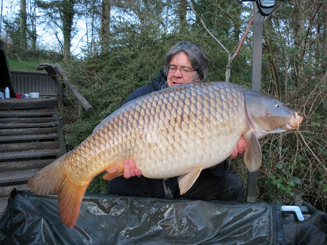big carp at la fonte french fishing