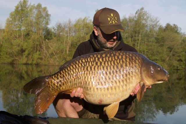 French carp fishing Molyneuxc