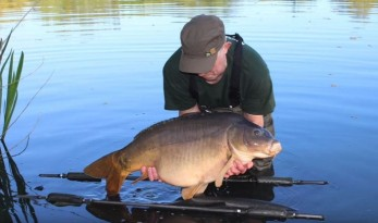 Molyneux carp lakes near to calais in france