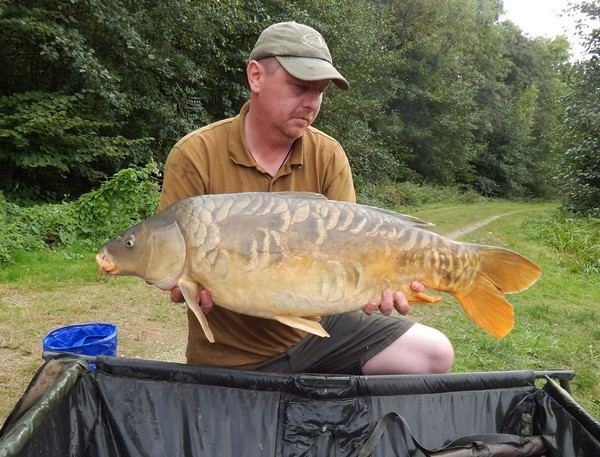small carp lake in france jonchery 7
