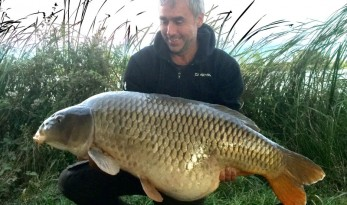 jonchery carp fishing lake in France