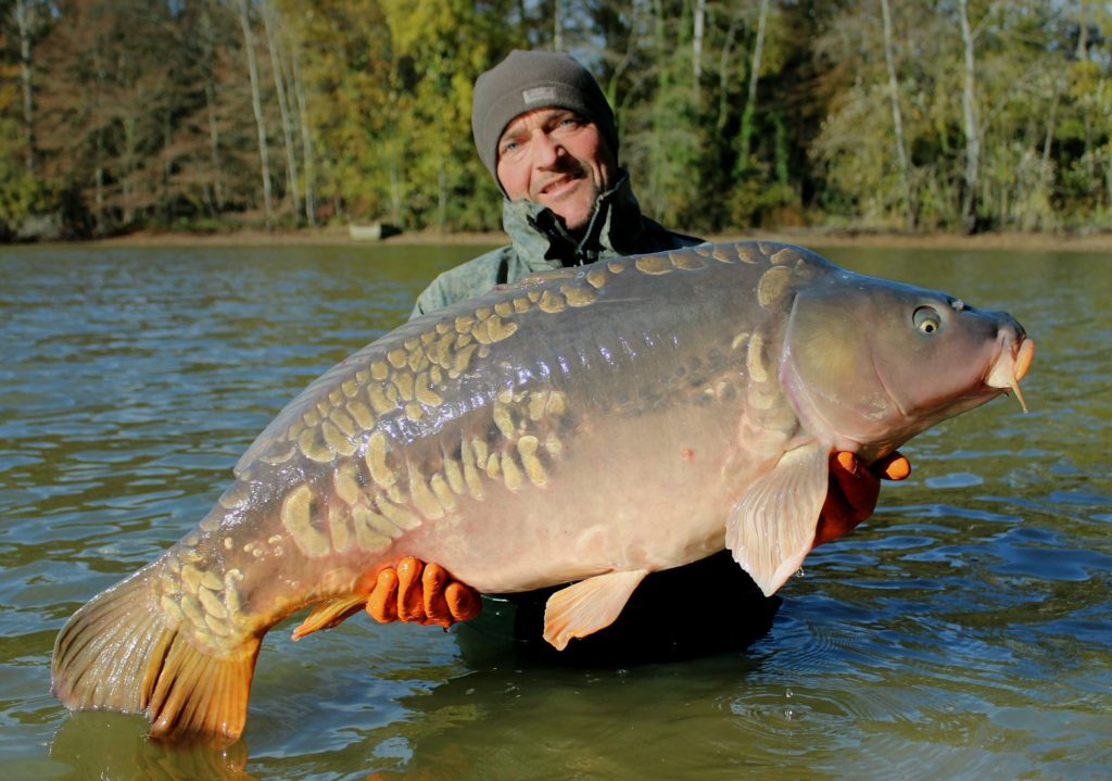 Brocard small receives 50 carp angling lines blog for Fishing in france