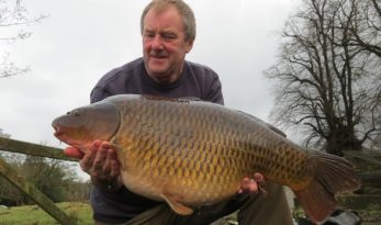 winter carp fishing with fishmeal boilie