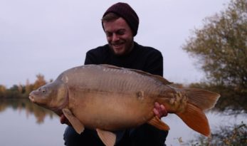 francis bayliss laroussi winter carp fishing