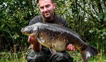 carp fishing photography