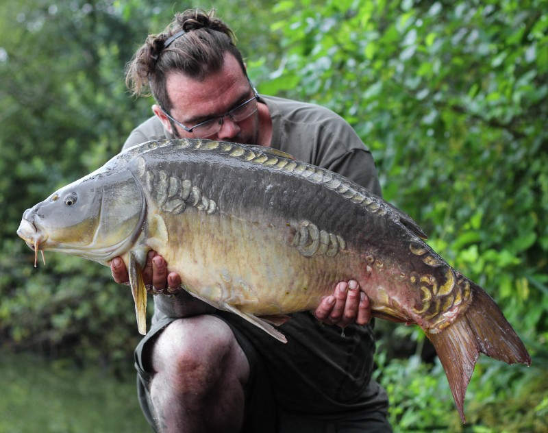 carp fishing france at Brocard Lakes