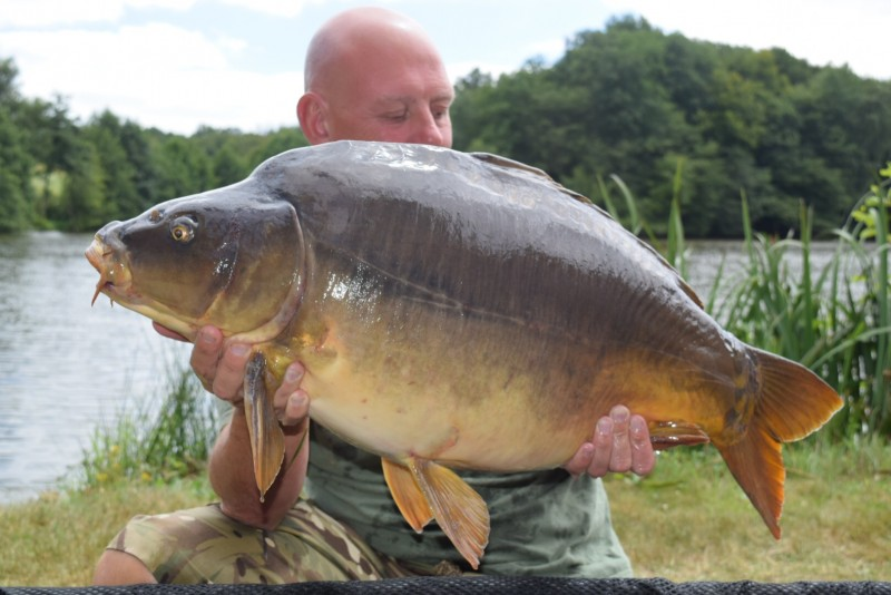 alder carp fishing france