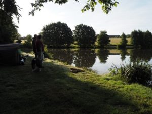 alder carp fishing with food package