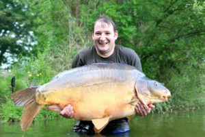 villefond big carp fishing france