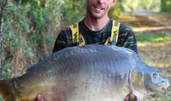 big carp blue lake france