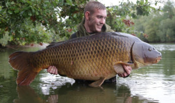 huge carp in Old Oaks lake france
