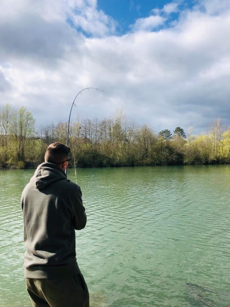 Carp fishing close to Calais at Molyneux