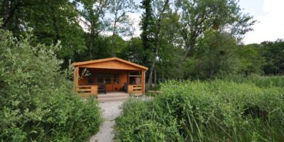 Carp fishing lakes France with cabin